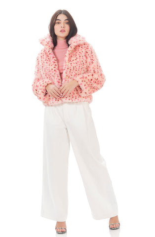 Lollypop coat - Pink