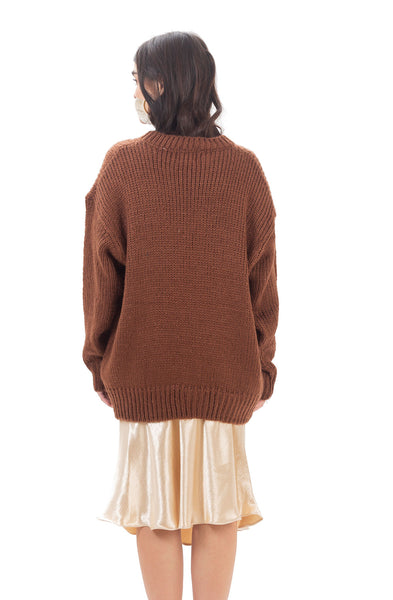 Ollympia knit - Brown