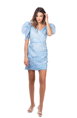 Lola dress  - Light blue