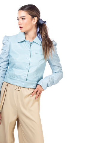 Lidia Blouse - Light blue