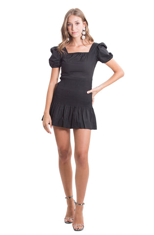 Brendy black dress