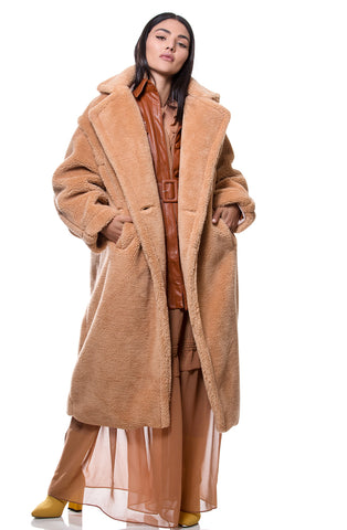 Beige Nick coat מעיל ניק בז