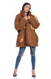 Brown Johnny coat מעיל ג'וני חום