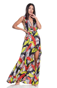 Tropical dress EN שמלת טרופית
