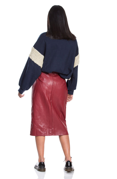 Alma skirt -  Bordeaux