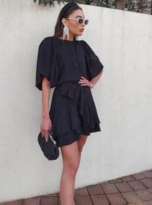 Stephanie dress-Black