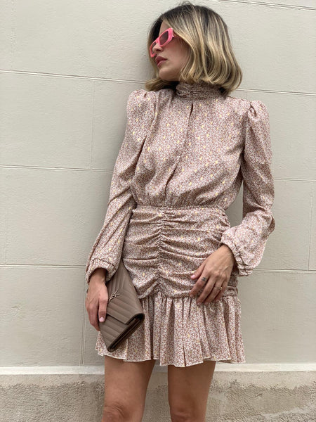 Mori dress- Beige