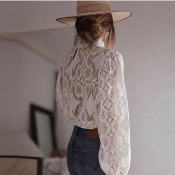 Bradley blouse - White