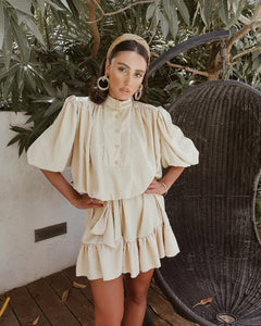 Belize dress- Beige