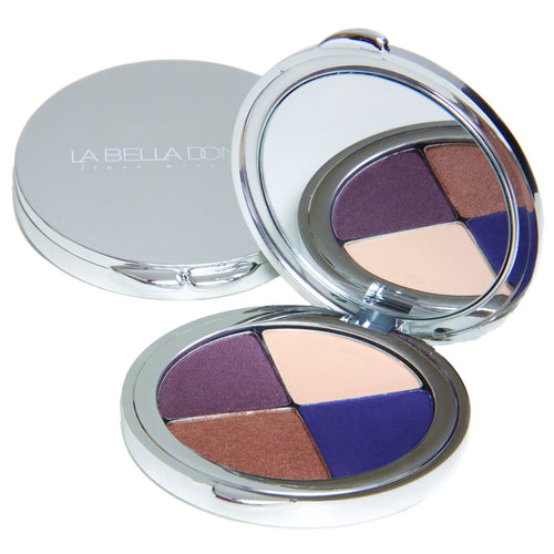 Midnight Azurite | Compressed Mineral Eye Shadow Compact Colour Collection - LA BELLA DONNA MINERALS