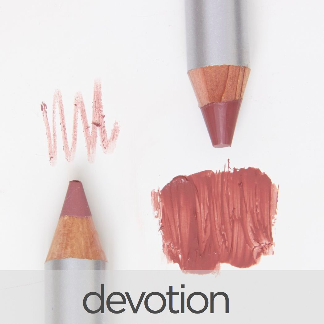 Duo-Lip Crayon with Dual White Sharpener | Love Lips Collection - LA BELLA DONNA MINERALS