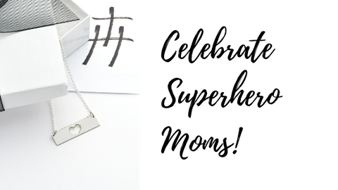 Celebrate your superhero mom this Mother's Day with Tracy Hibsman Studio Christian Jewelry