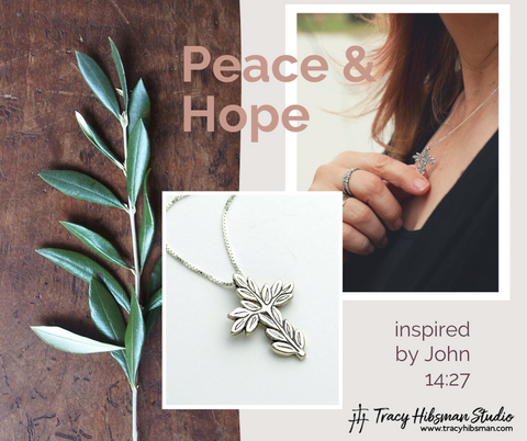 Shop Sterling Silver Peace Jewelry by Tracy Hibsman Studio Christian Jewelry