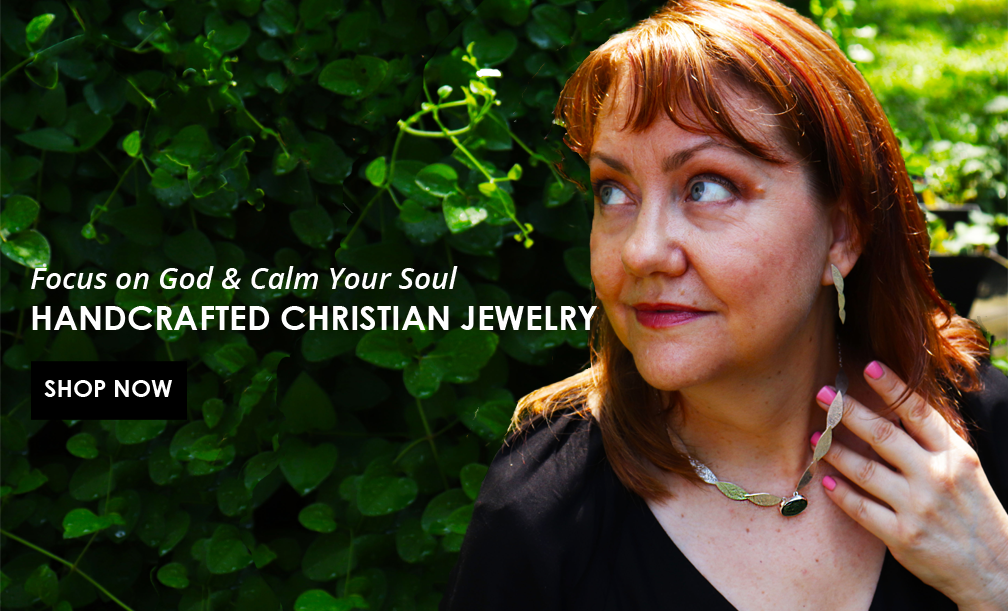 Focus on God & Calm Your Soul, Handcrafted Christian Jewelry by Tracy Hibsman Studio LLC