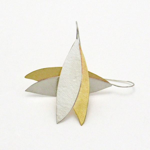 Peace Olive Leaf Earrings - John 14:27