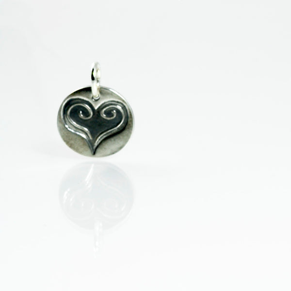 Purity of Heart Charm - Psalm 86:11