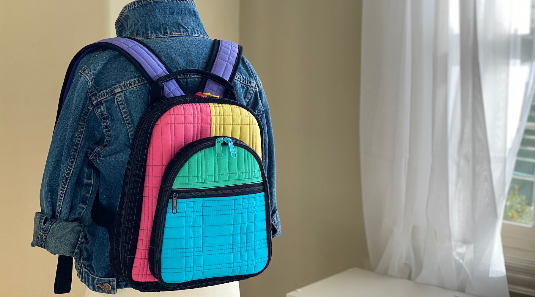 Out and About Backpack in Colorblock