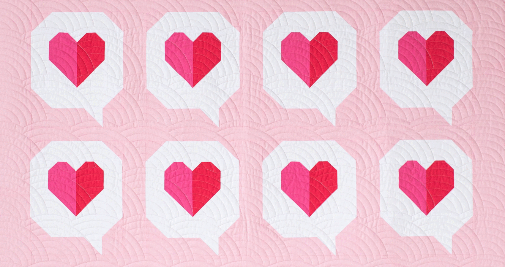I Heart You Quilt Pattern