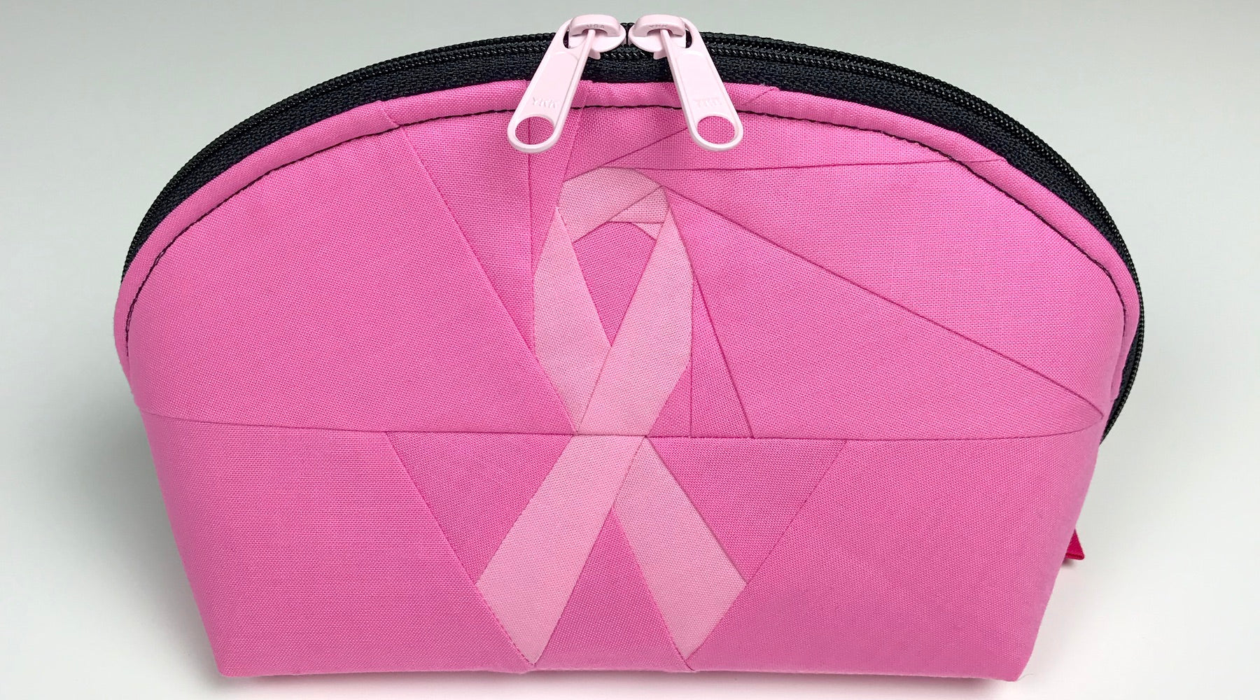 SewPINK: byAnnie Clam Up + Sewfinity Fabric + Awareness Ribbon