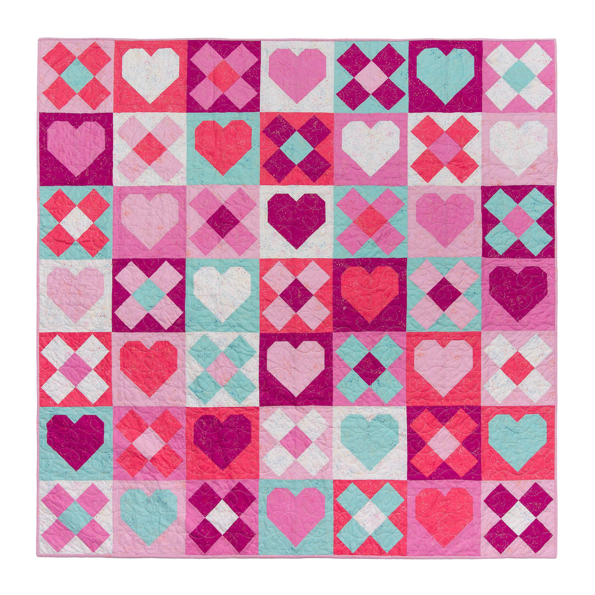 Be Mine Quilt by Pen and Paper Patterns | Sewfinity.com