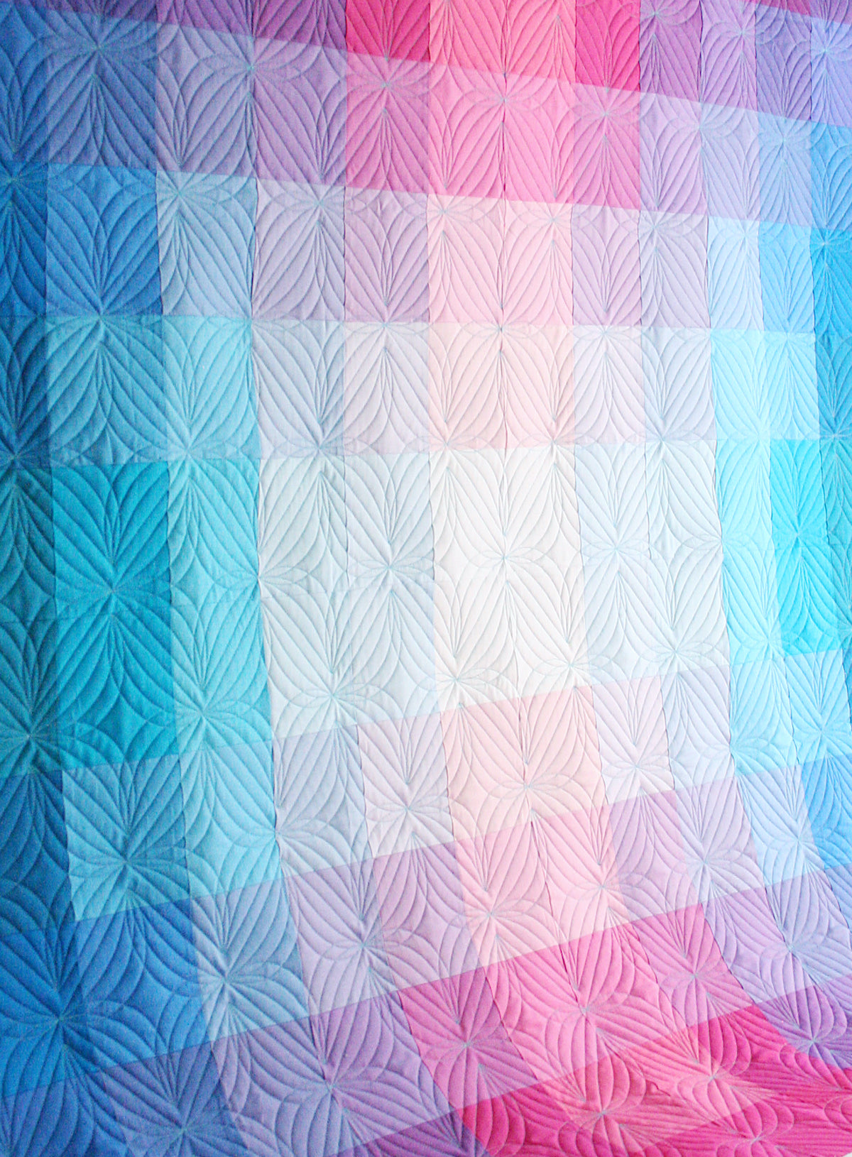 Gradient Grid Quilt - MBC Variation