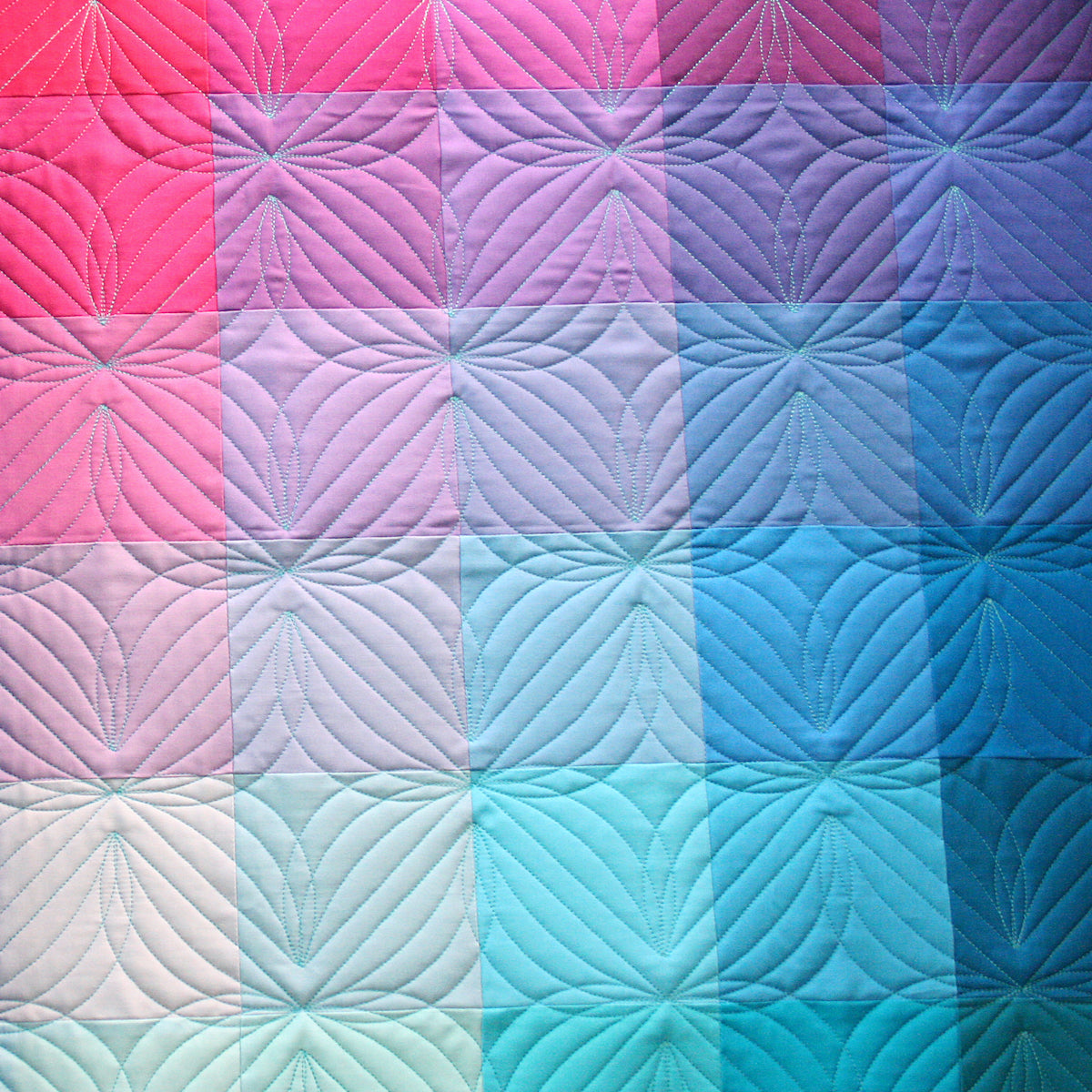 Gradient Grid Quilt - MBC colorway