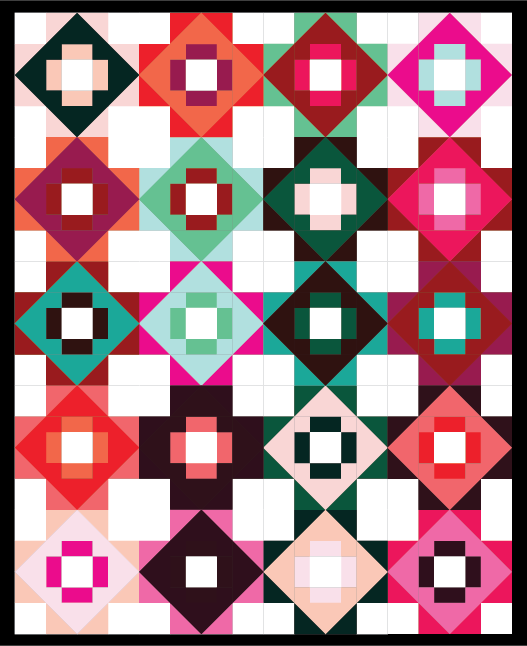 Meadowland Quilt Mockup by Sewfinity