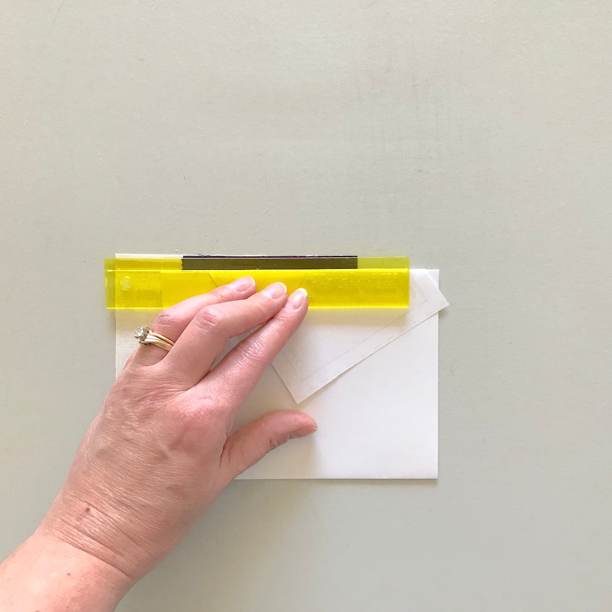 foundation paper piecing with add-a-quarter ruler