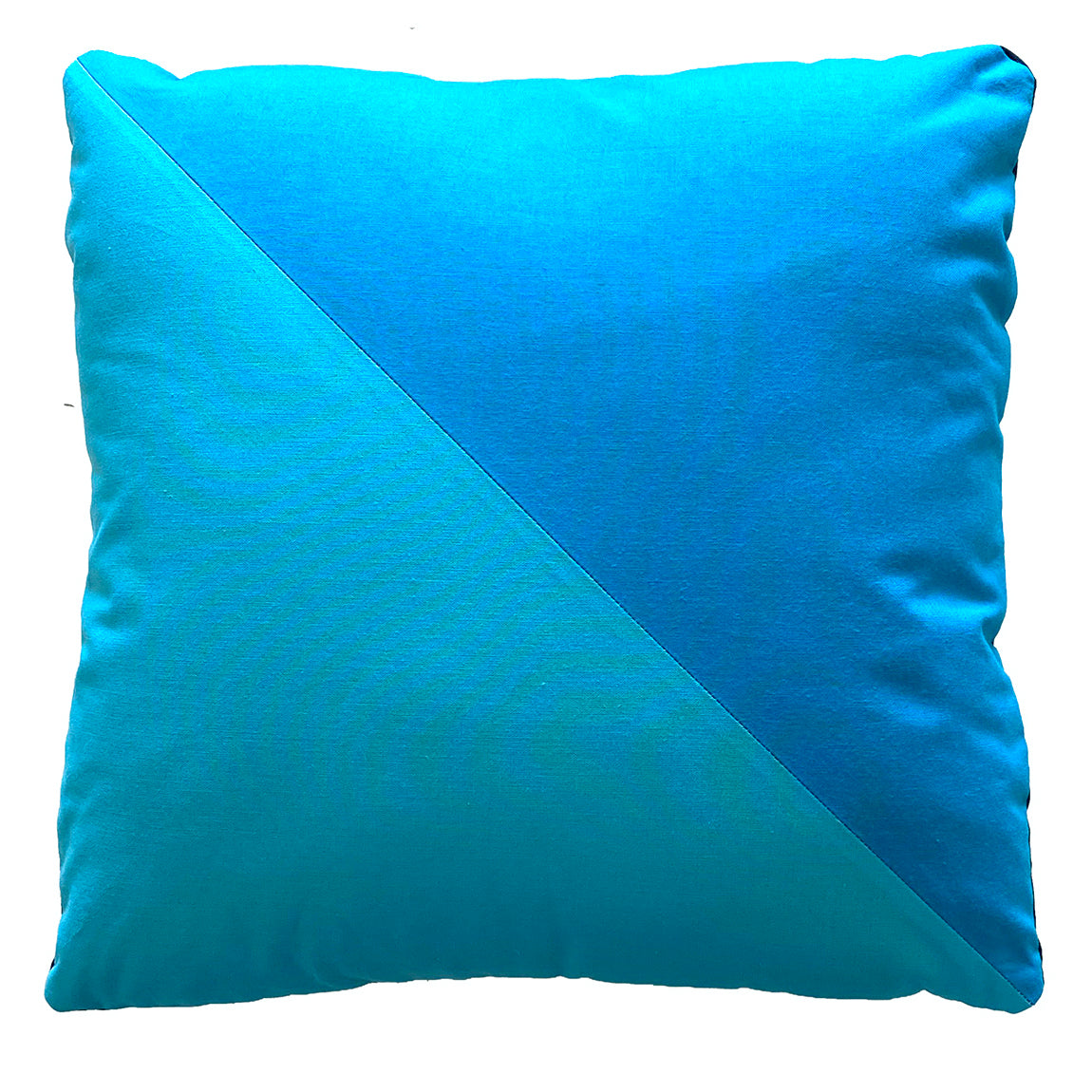Half-square pillow cover by Sewfinity