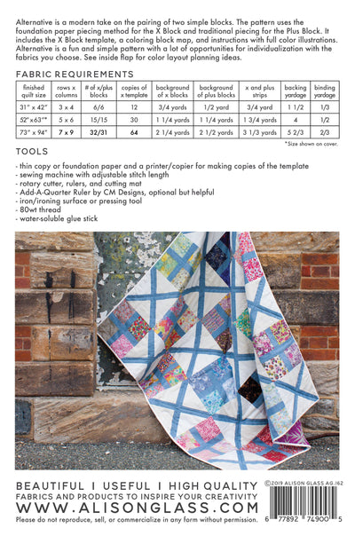 Alternative Quilt Pattern by Alison Glass