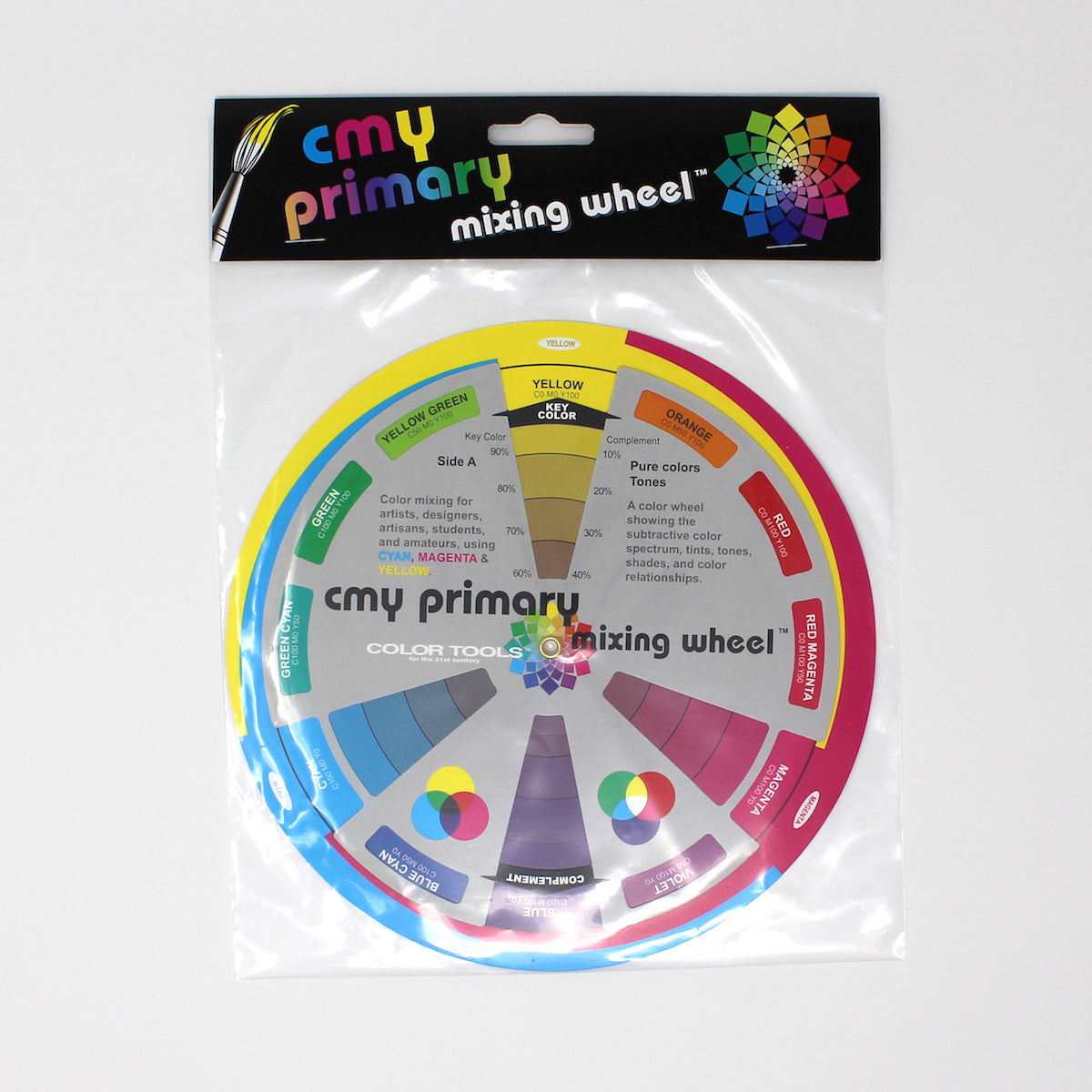 CMY Color Wheel - 7 3/4""