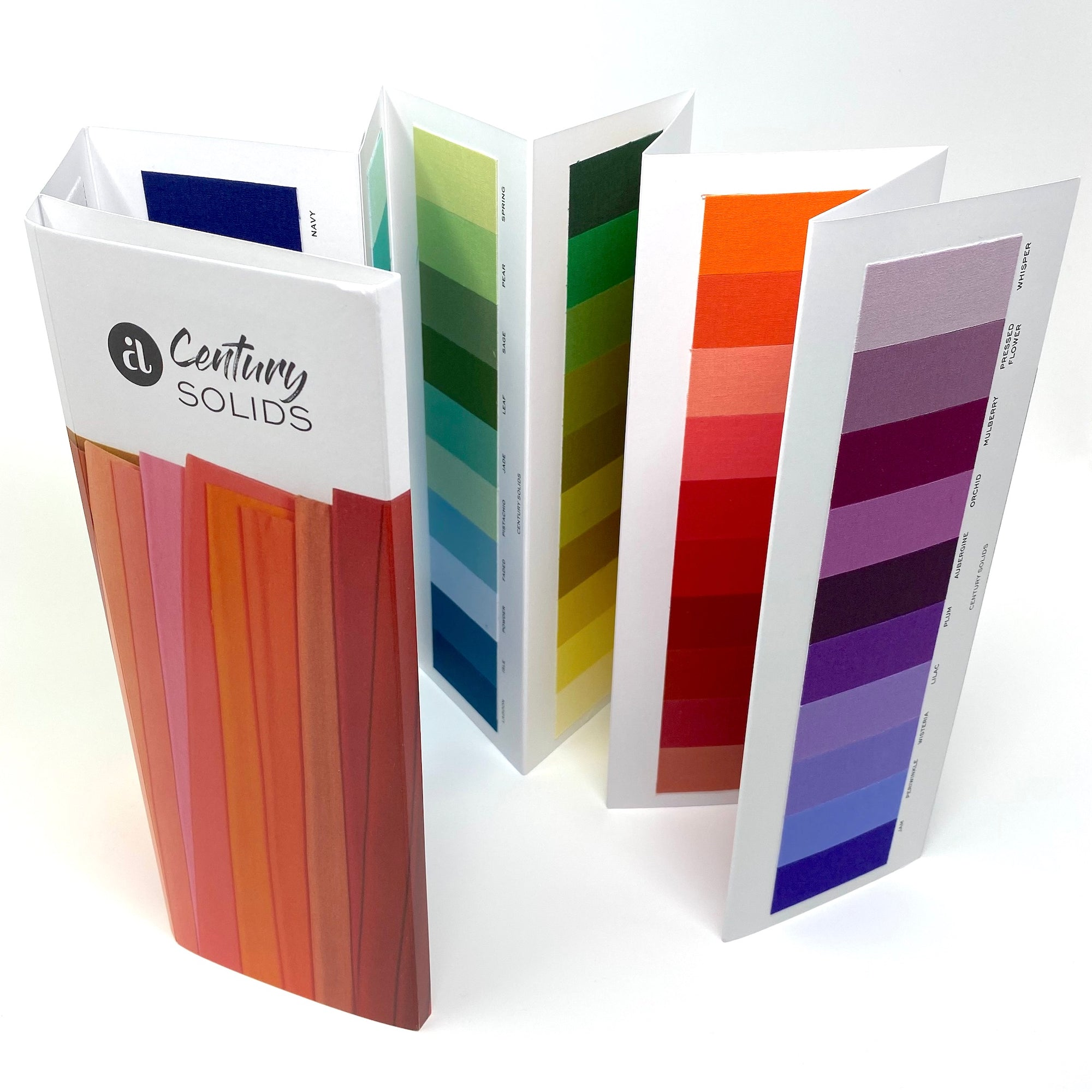 Century Solids Color Card - 100 Colors