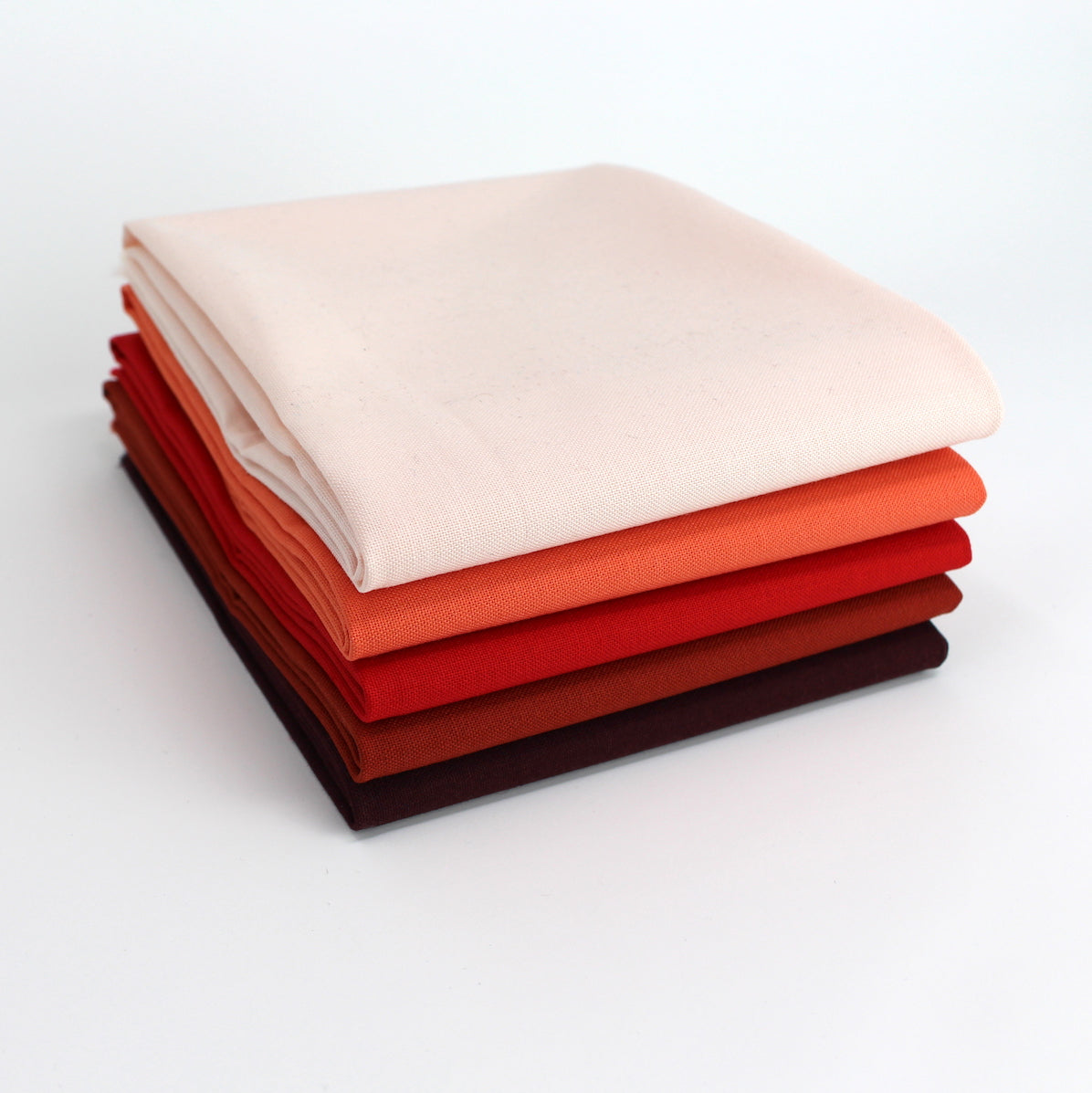 Red 5 Fat Quarter Bundle - Kona Cotton