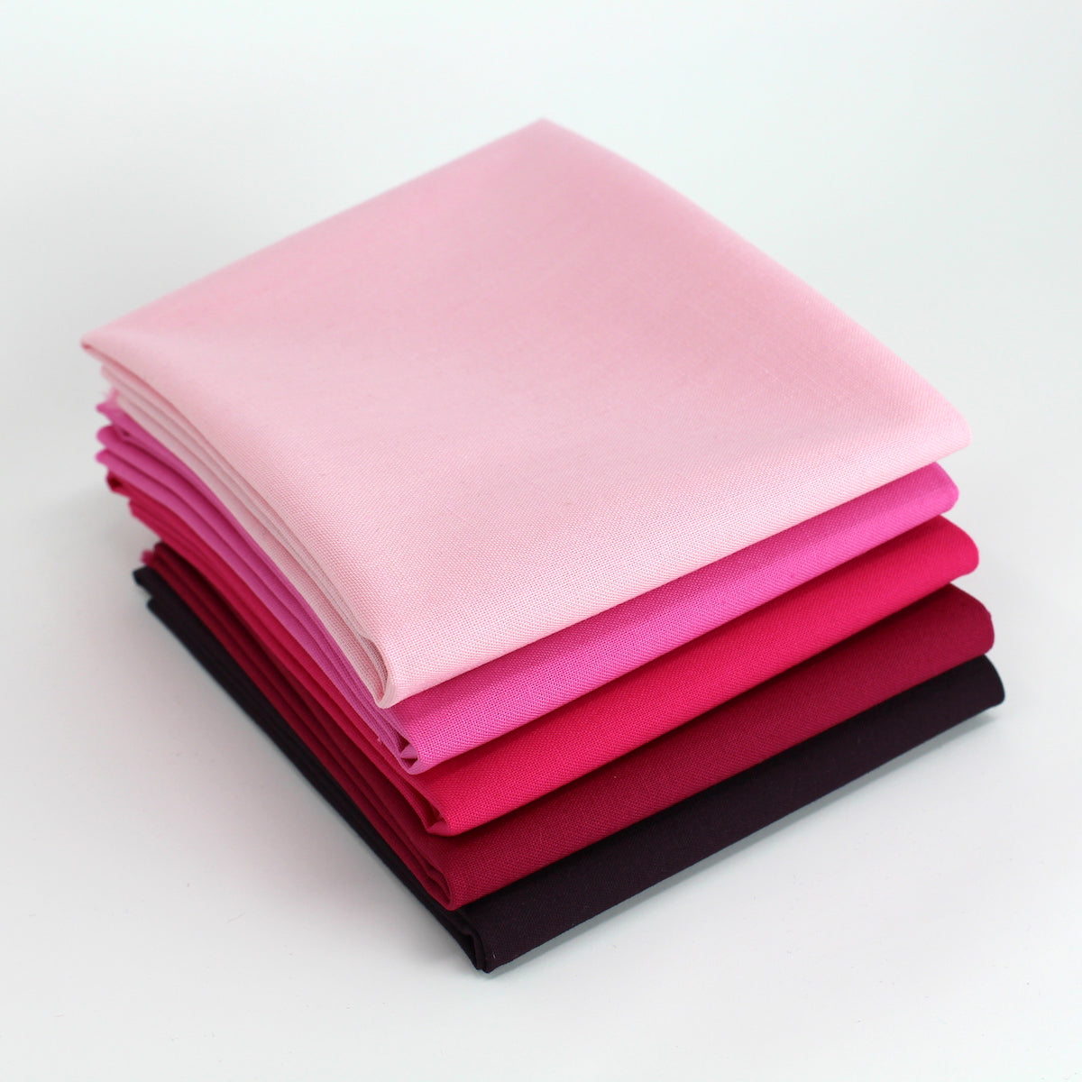 Magenta 5 Fat Quarter Bundle - Kona Cotton