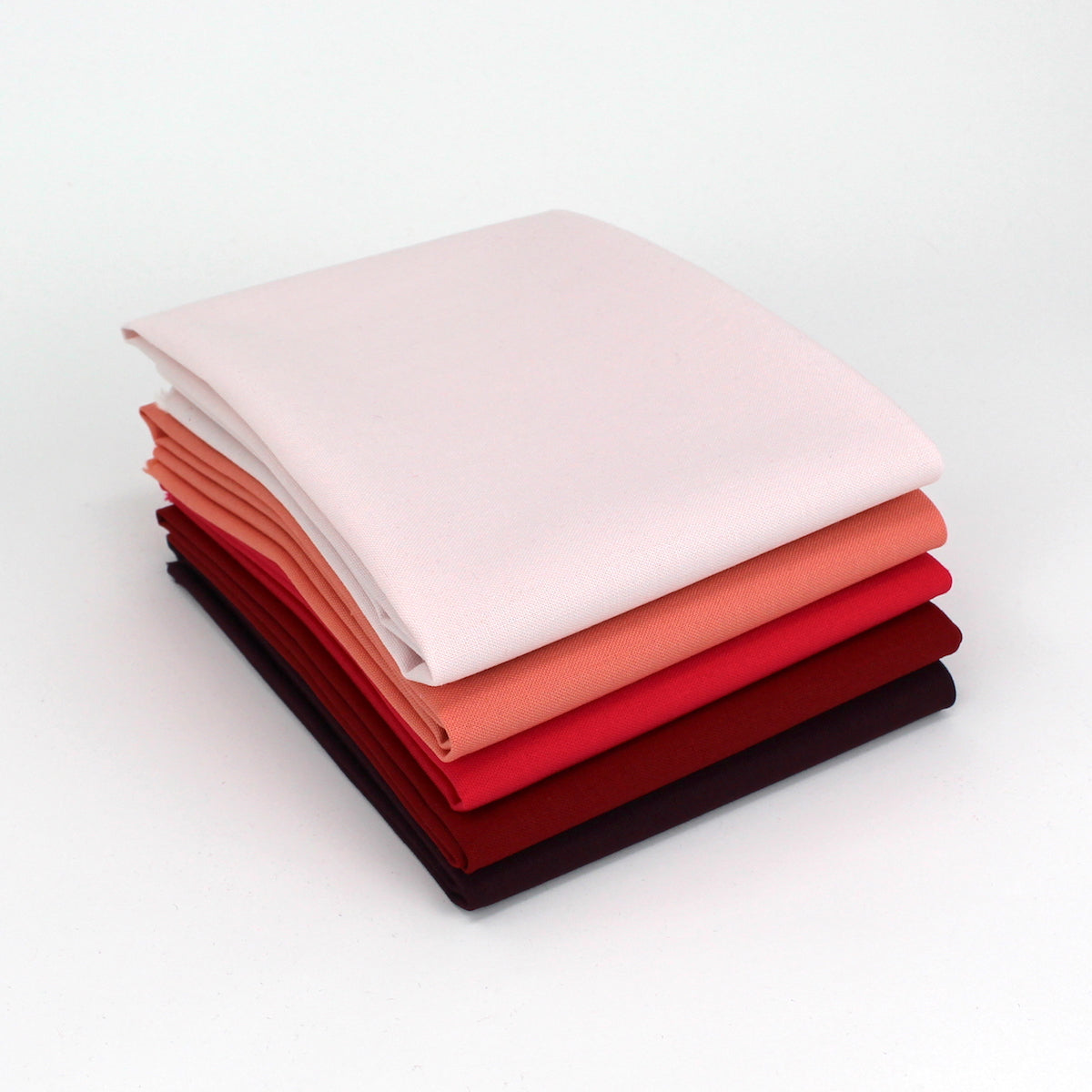 Red Magenta 5 Fat Quarter Bundle - Kona Cotton