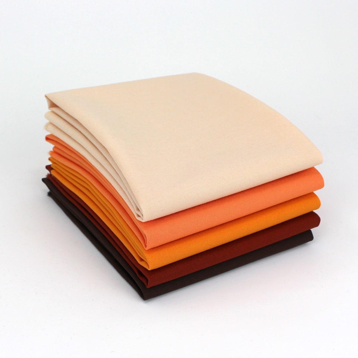 Orange 5 Fat Quarter Bundle - Kona Cotton