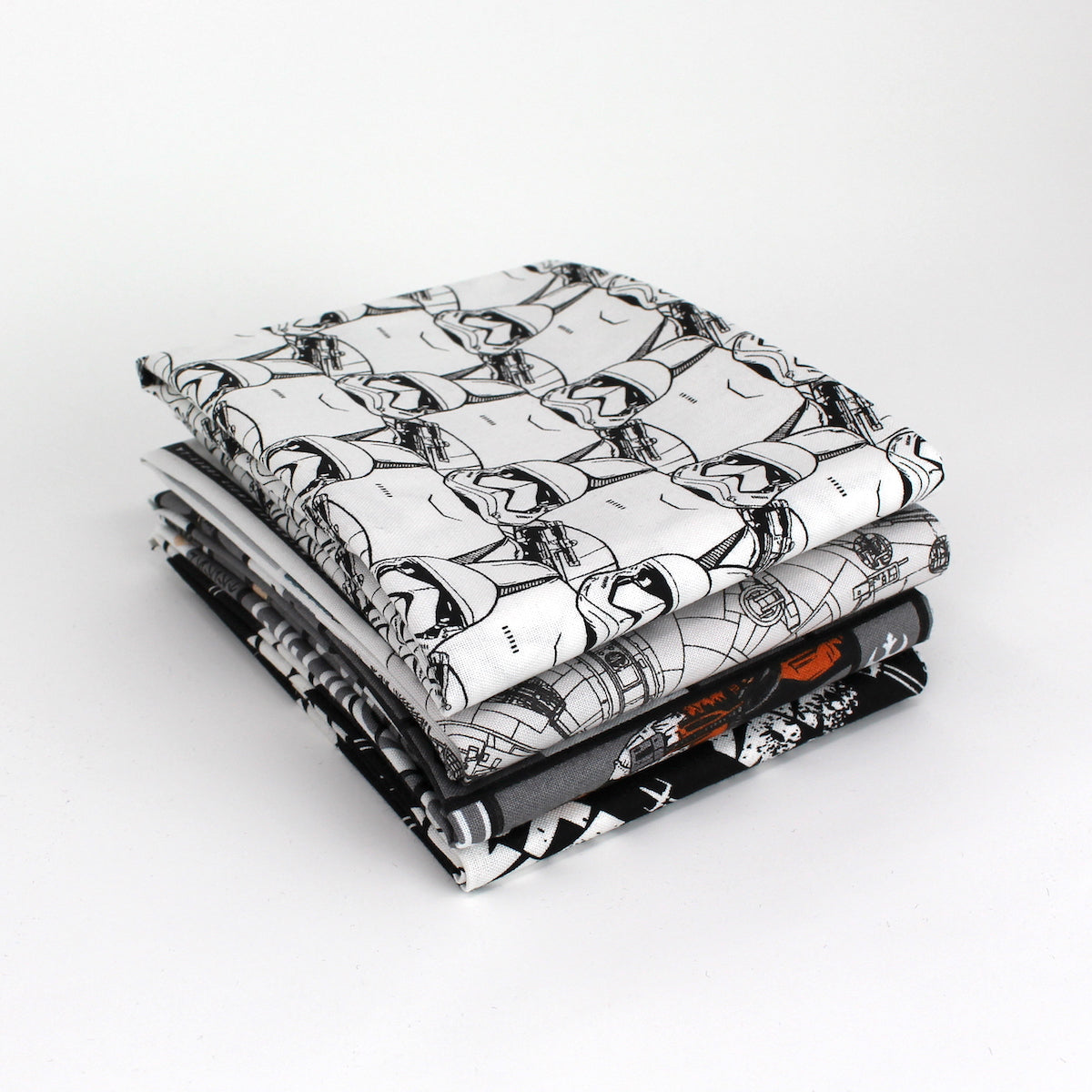 Star Wars The Last Jedi 4 Fat Quarter Bundle