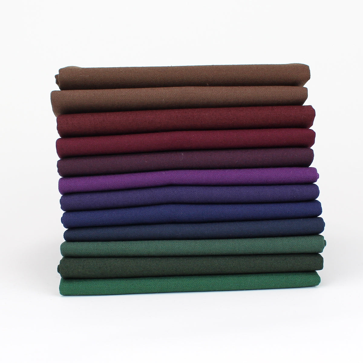 Rainbow Value Nine - 12 Fat Quarter Bundle - Kona Cotton
