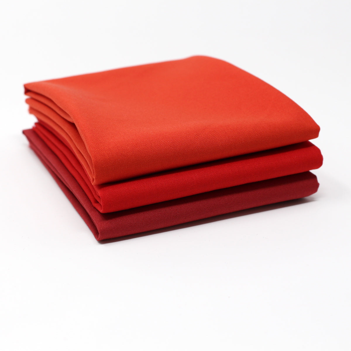 Red Medium 3 Fat Quarter Bundle - Kona Cotton