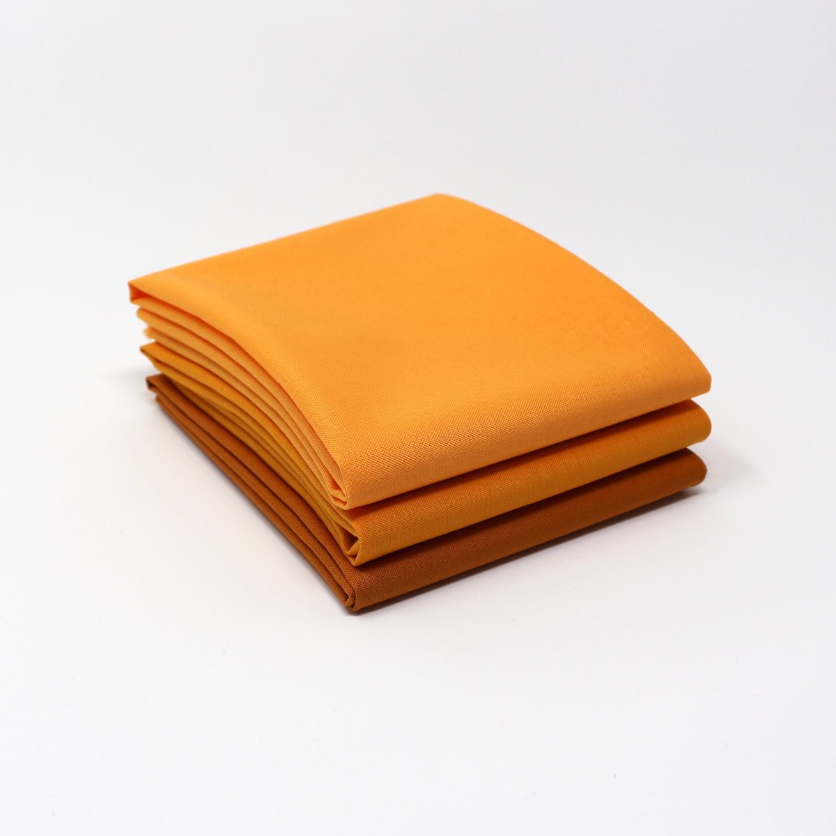 Orange Medium 3 Fat Quarter Bundle - Kona Cotton