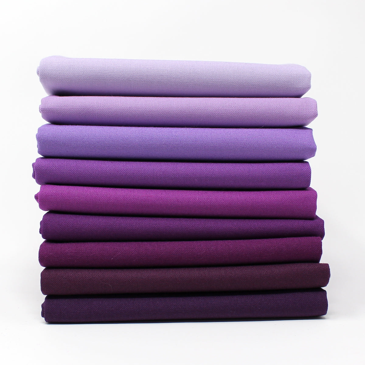 Violet 9 Fat Quarter Bundle - Kona Cotton