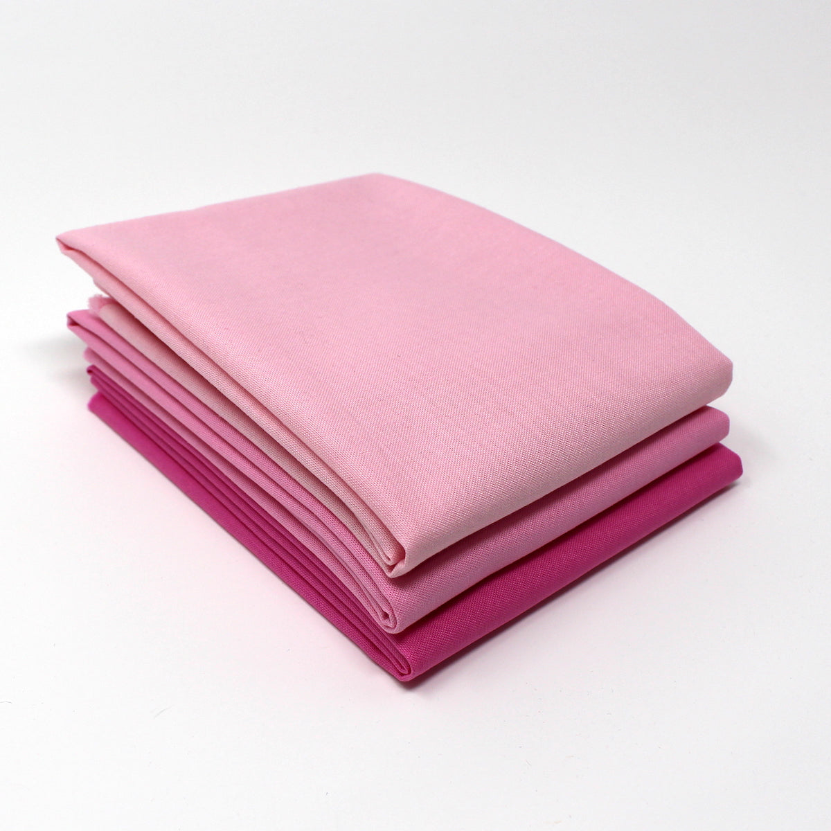 Magenta Light 3 Fat Quarter Bundle - Kona Cotton