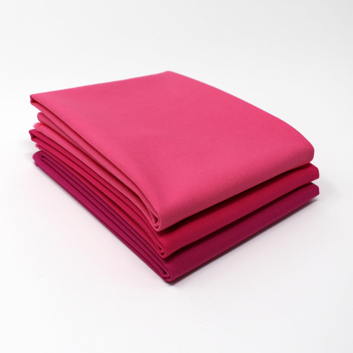 Magenta Medium 3 Fat Quarter Bundle - Kona Cotton