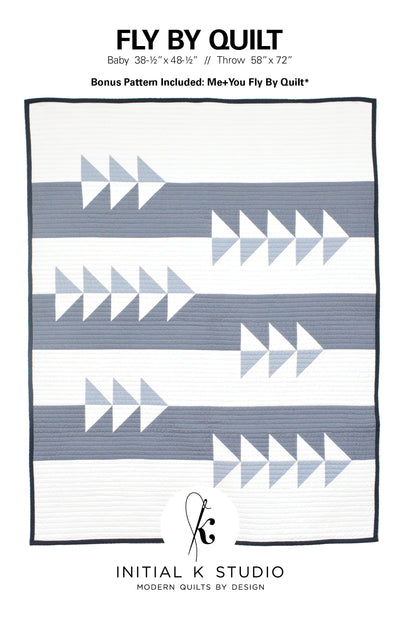 Fly By Quilt Pattern by Initial K Studio
