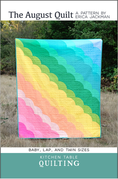 The August Quilt Pattern by Kitchen Table Quilting