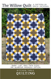 The Willow Quilt Pattern by Kitchen Table Quilting