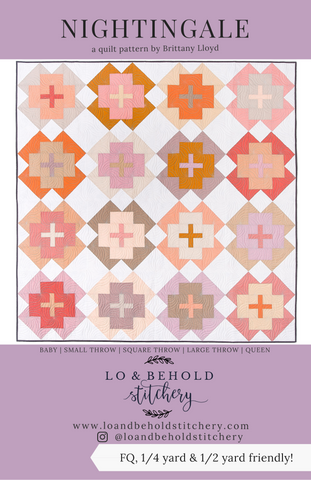 Nightingale Quilt Pattern by Lo and Behold Stitchery - Sewfinity.com