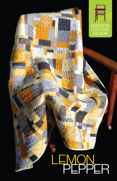 Lemon Pepper Quilt Pattern by Madison Cottage Design