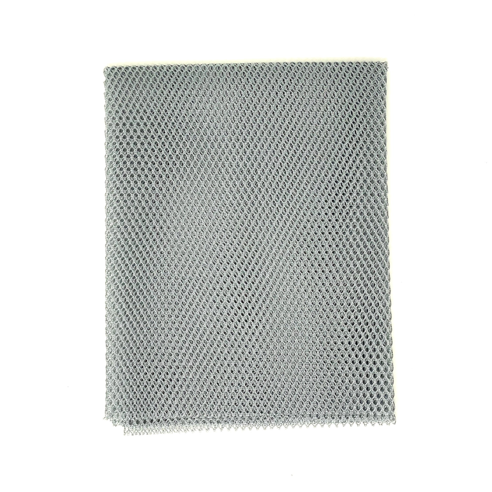 Mesh Fabric - Pewter