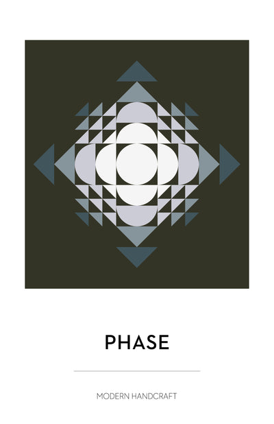 Phase Quilt Pattern by Modern Handcraft